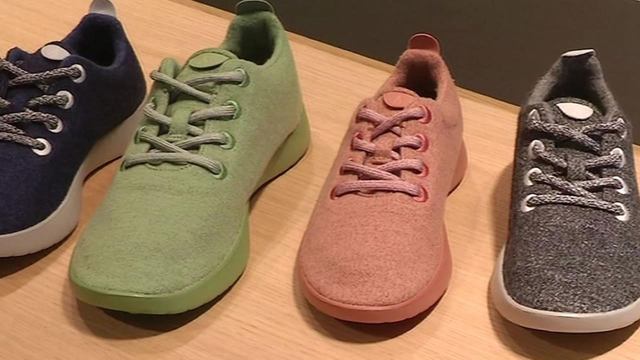 Allbirds shoes are seen in this undated image.