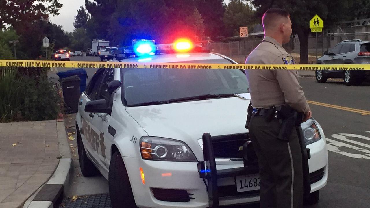 Santa Clara County deputies investigate officer-involved shooting, Tuesday, September 13, 2016.