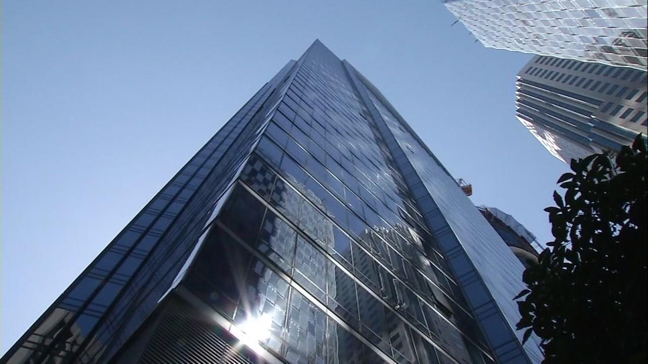 A Millennium Tower in San Francisco, Calif. is seen in this undated image.