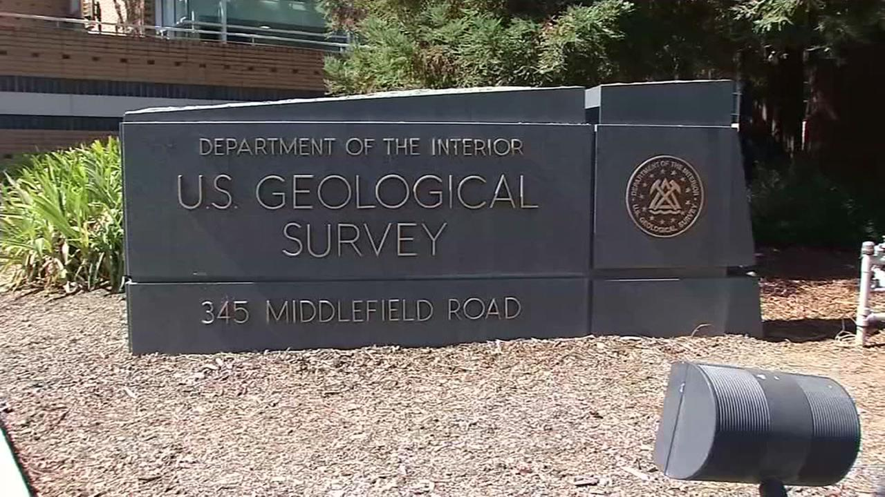 This image shows the United State Geological Survey office in Menlo Park, Calif.