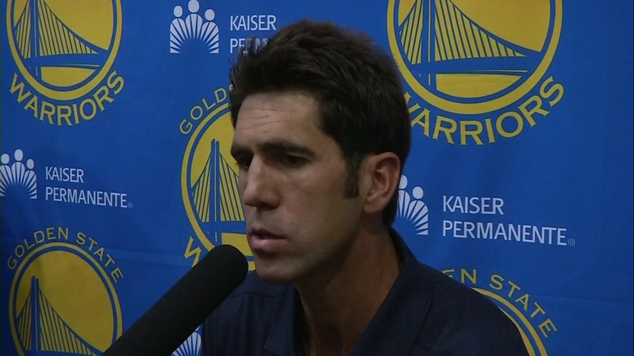 This image shows Golden State Warriors general manager Bob Myers.