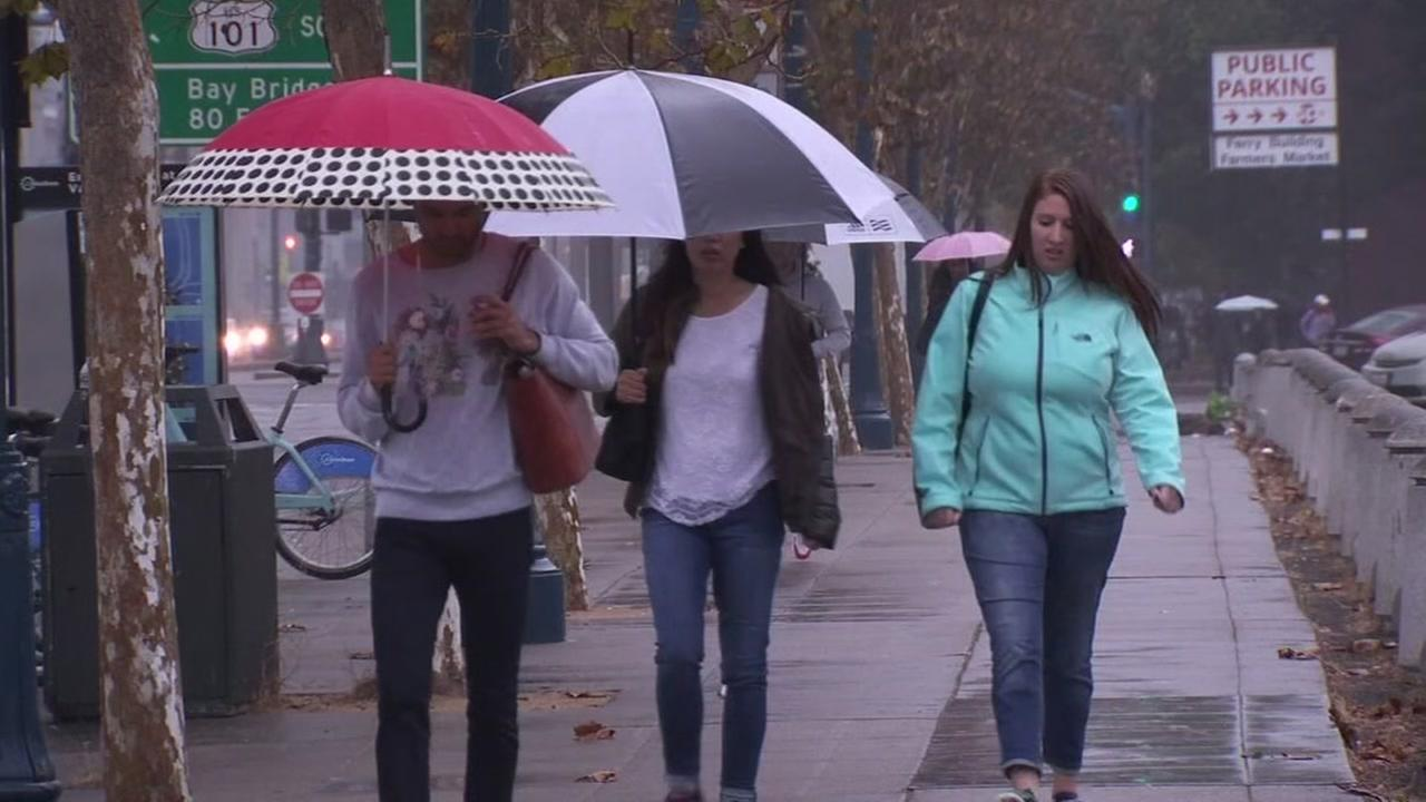 Rainy, windy weather expected to hit Bay Area