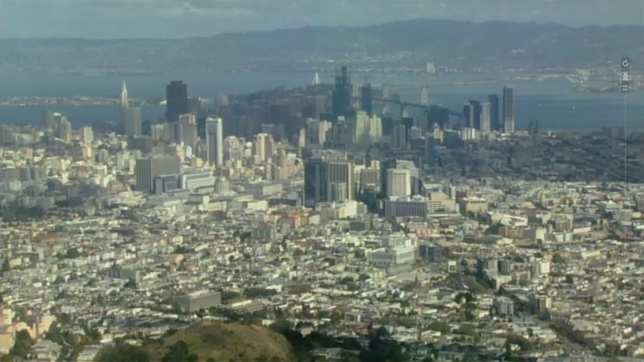 San Franciscos skyline is seen in this undated image.