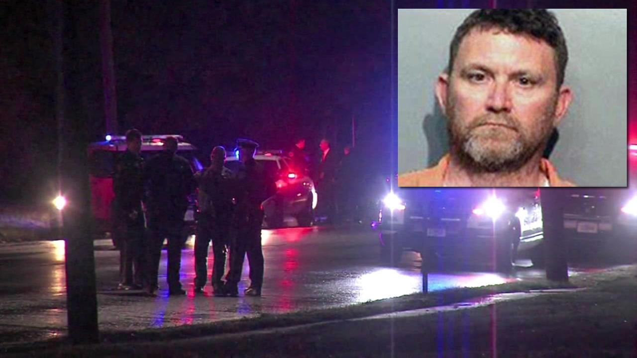 Police have identified the suspect in the fatal shooting of two police officers as 46-year-old Scott Michael Greene.