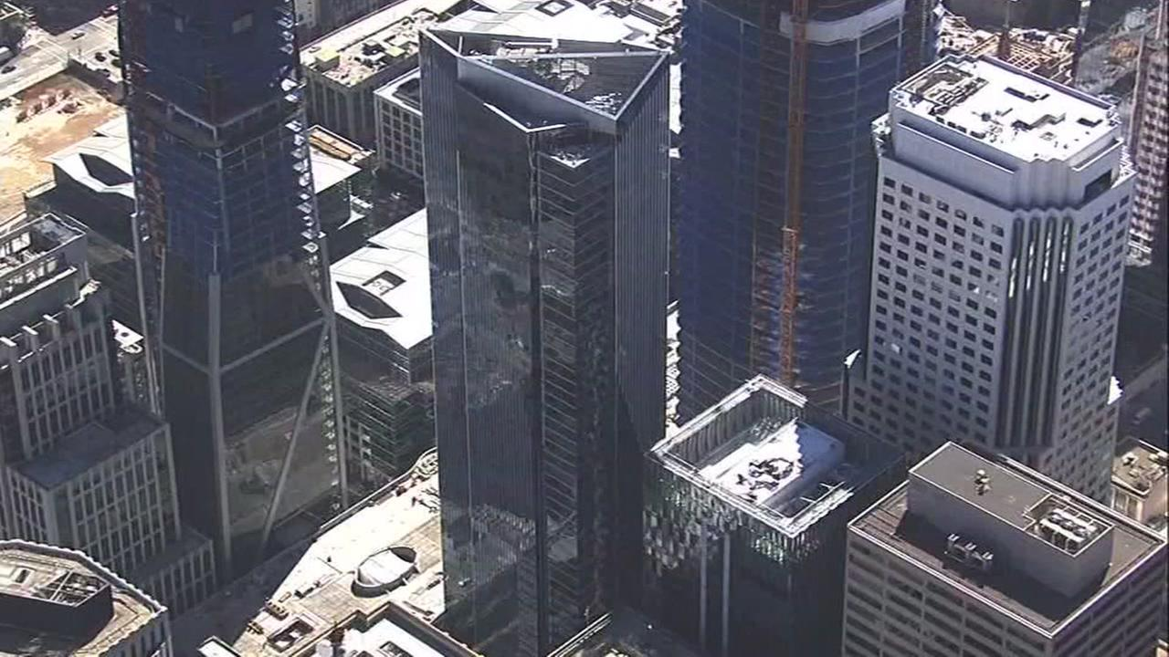 This is an undated image of Millennium Tower in San Francisco.
