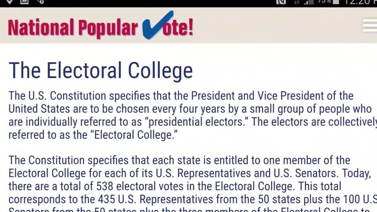 Election renews debate over Electoral College vs. popular vote