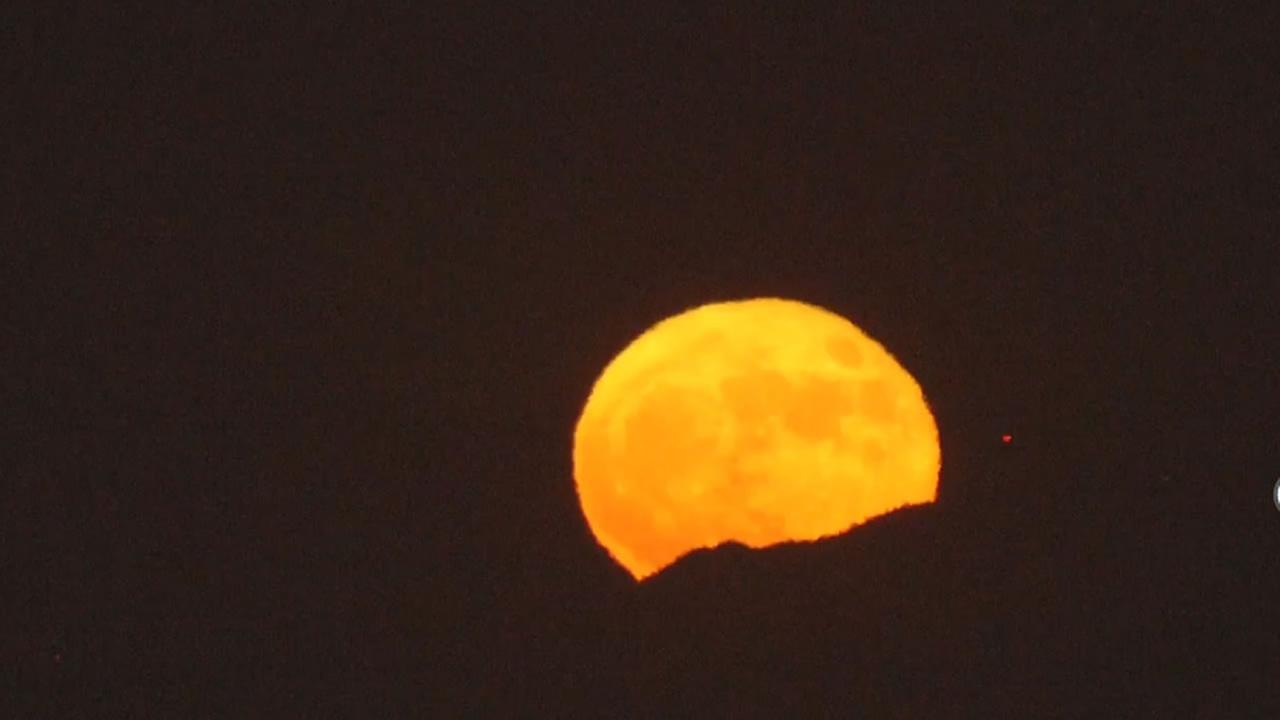 Video Shots Of The Supermoon From Around Bay Area Abc7news Com