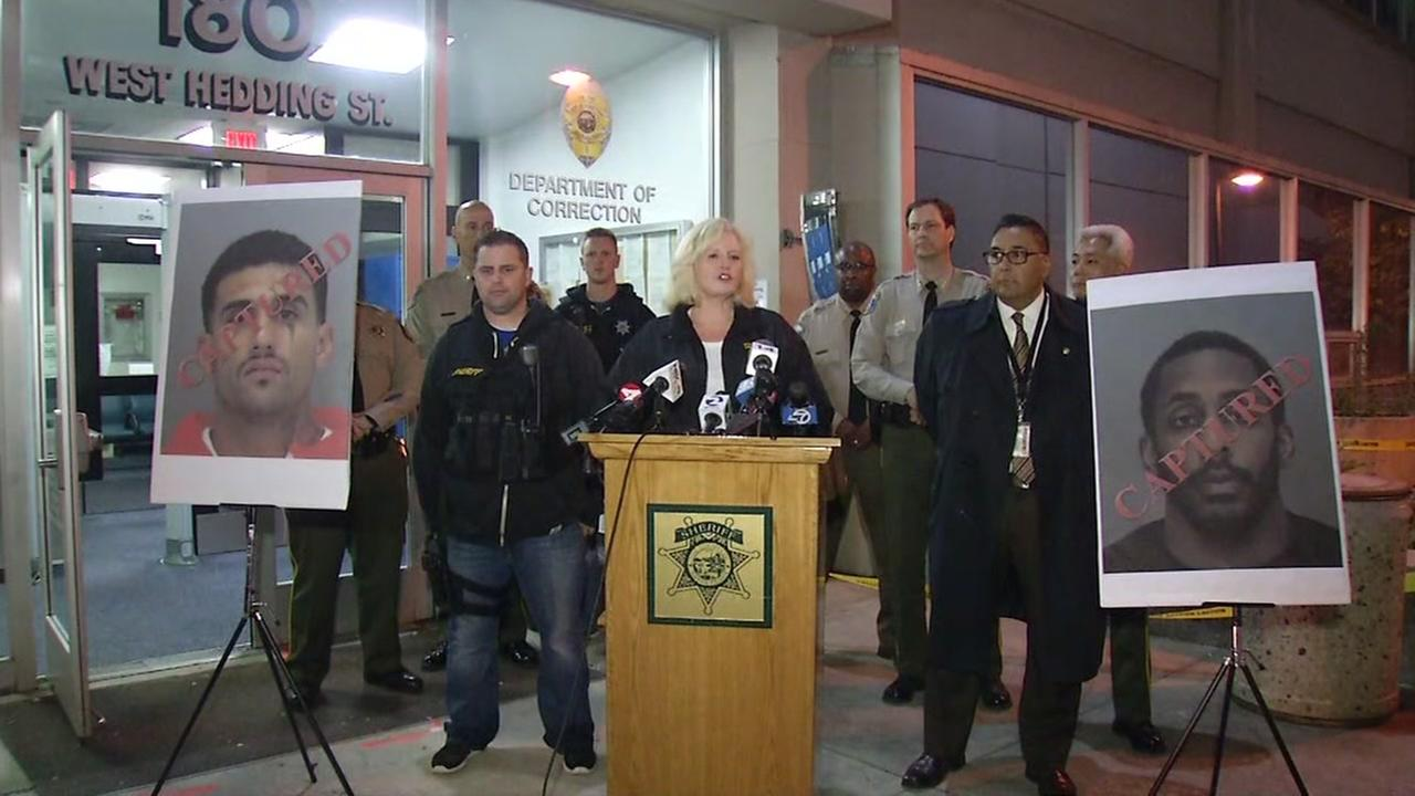 Stanta Clara County Sheriffs officials discuss inmate capture