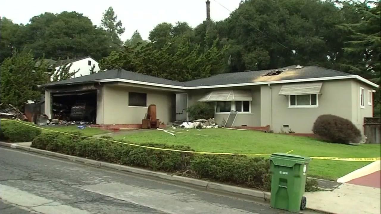 Homicide investigation underway after womans body found in house fire in Castro Valley, California, Tuesday, December 14, 2016.