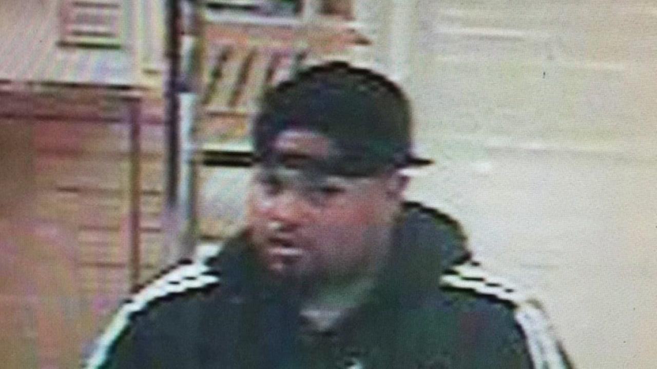 Suspect in Sears jewelry burglary at Sunvalley Mall in Concord, California.