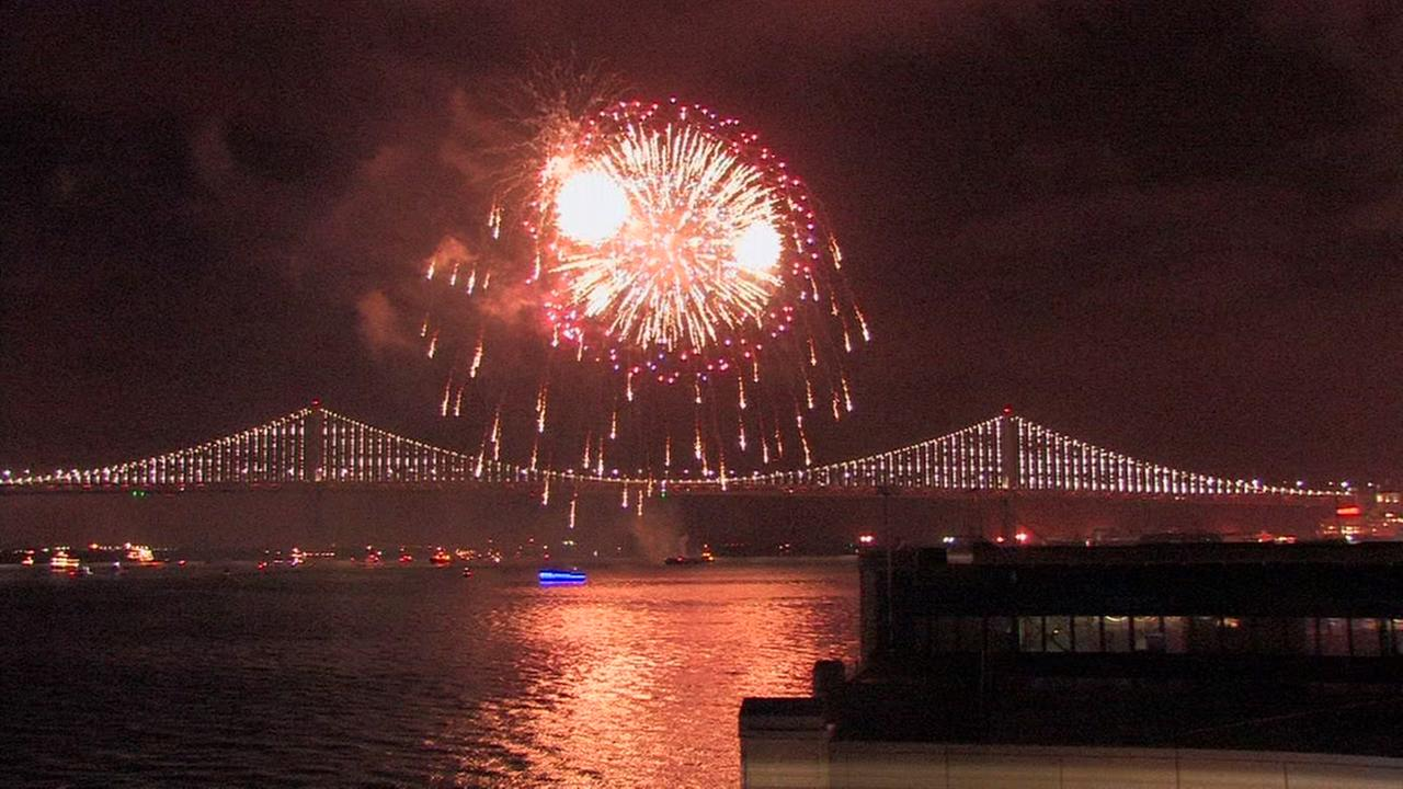 video miss last nights fireworks in san francisco heres the whole show happy new year abc7newscom