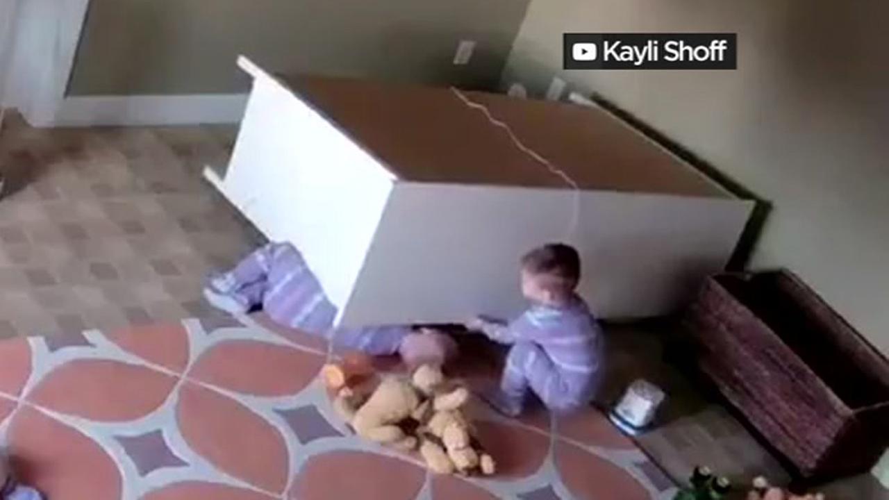 Toddler rescued in Utah