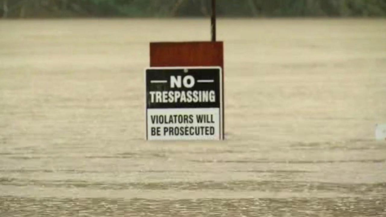 Russian River flooding in Sonoma County, California, Tuesday, January 10, 2017.