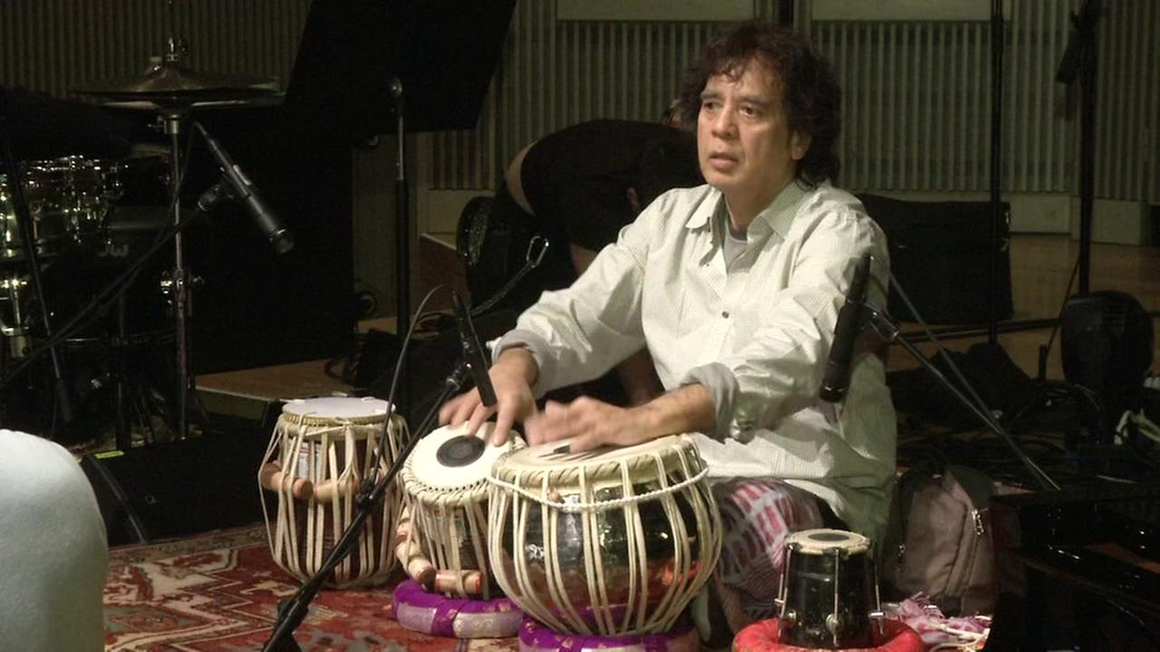Musician Zakir Hussain honored at jazz gala in San Francisco