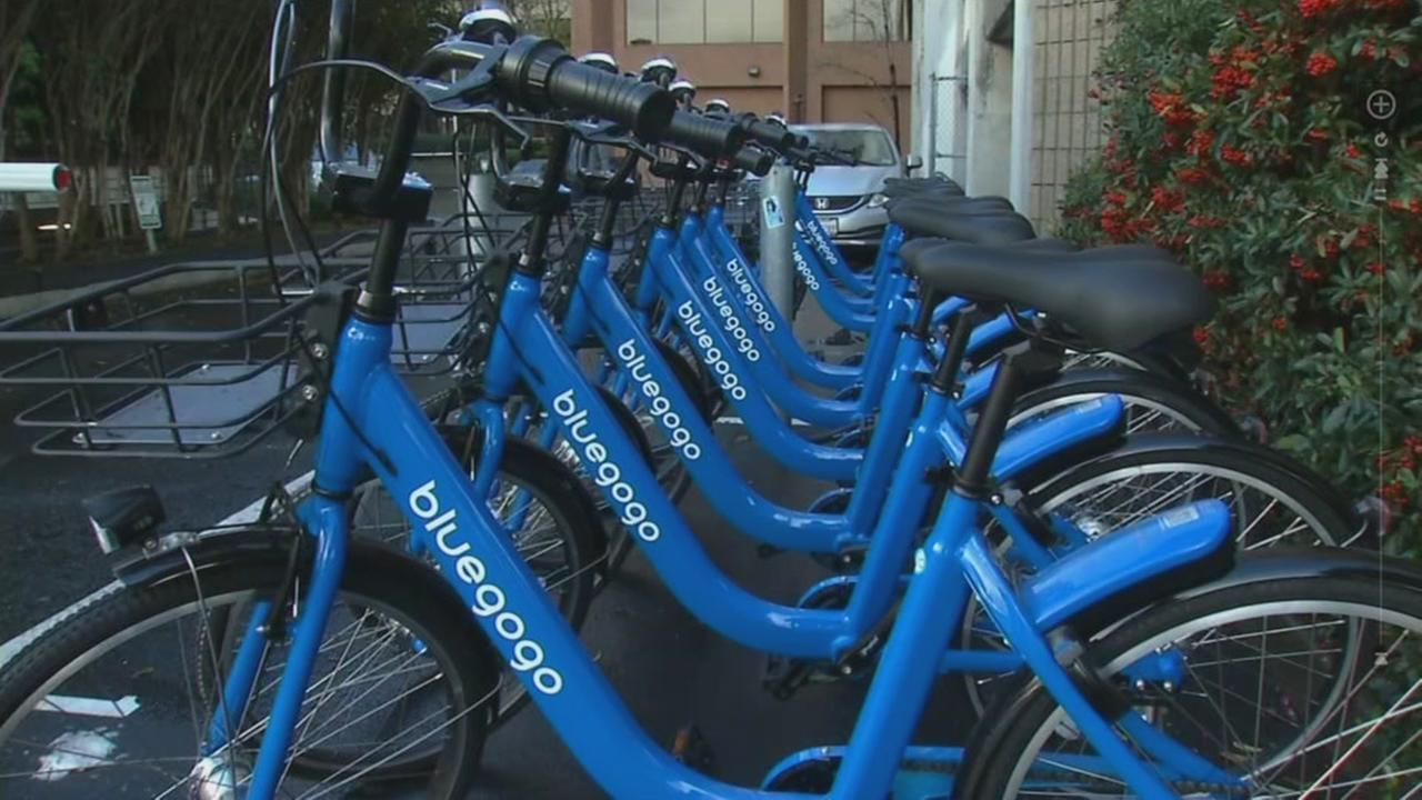 Blue Gogo bike share company delays launch, fails to get city permits for bikes