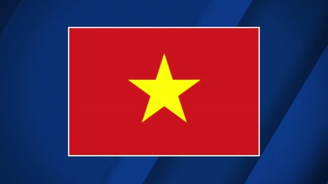 This is an undated image of the National Flag of Vietnam.