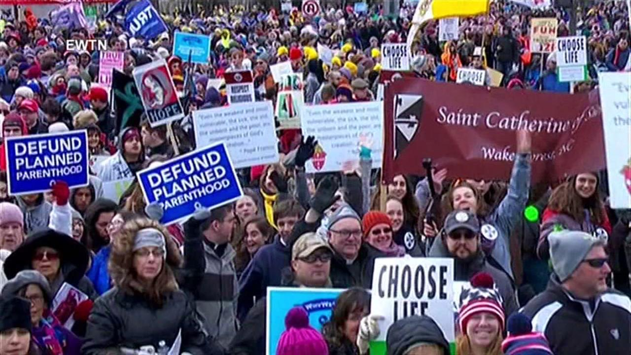 March for Life draws thousands to Washington D.C.