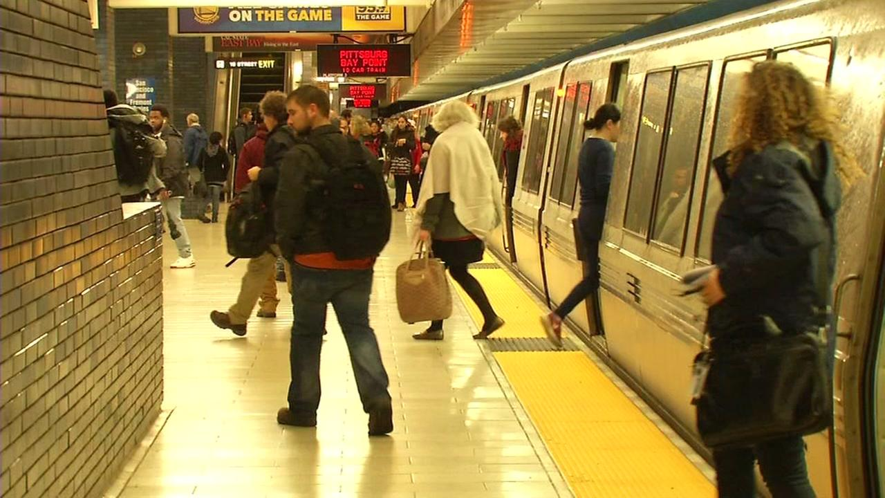 BART removing more seats from train cars