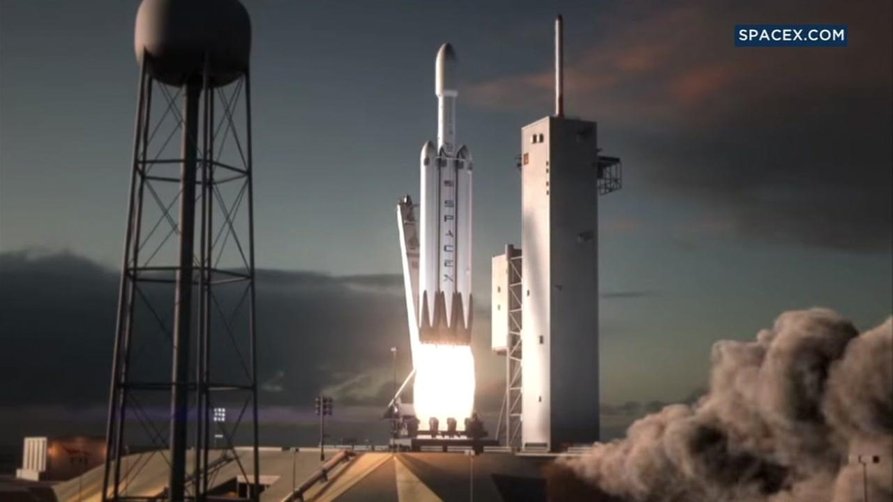 This is an undated image from SpaceX.com
