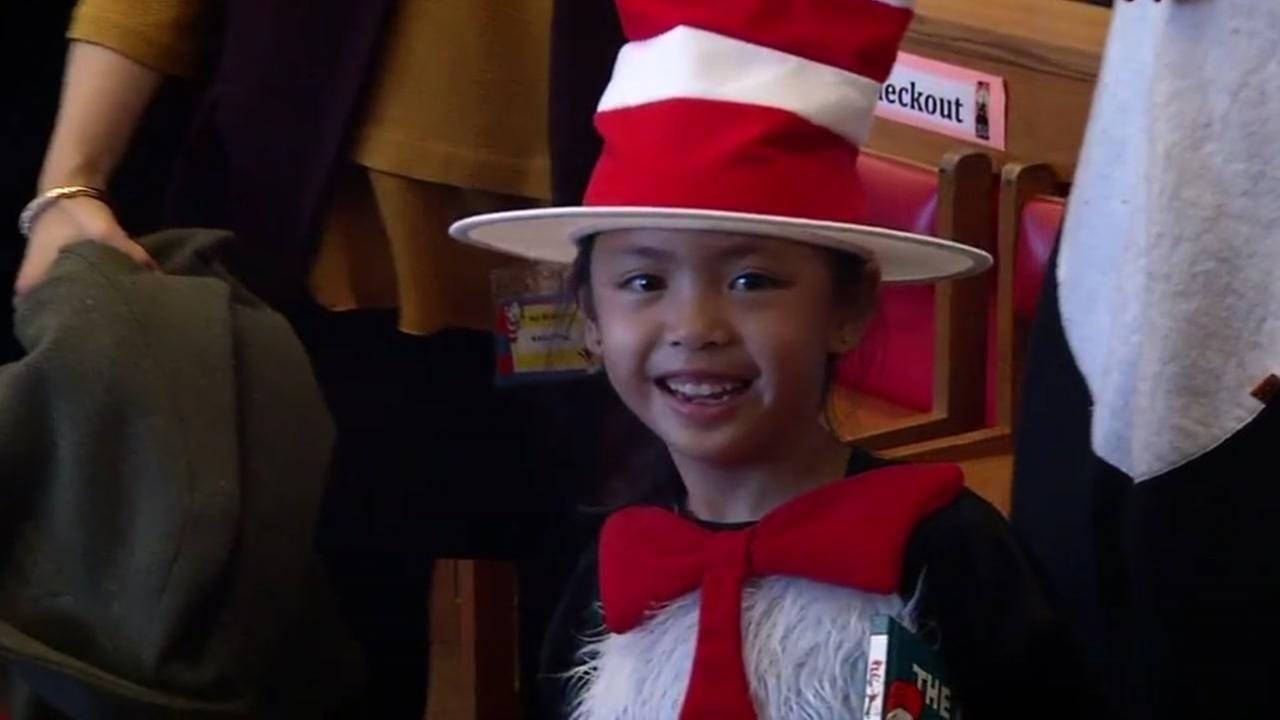 SF schools hold reading parties for Dr. Seuss birthday