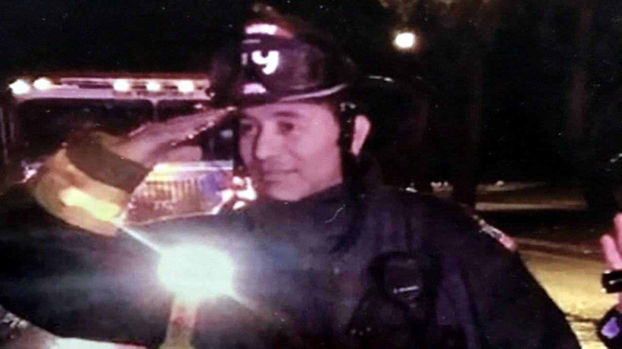 This is an undated image of Jalal Aineb, a San Francisco firefighter who died of stomach cancer.