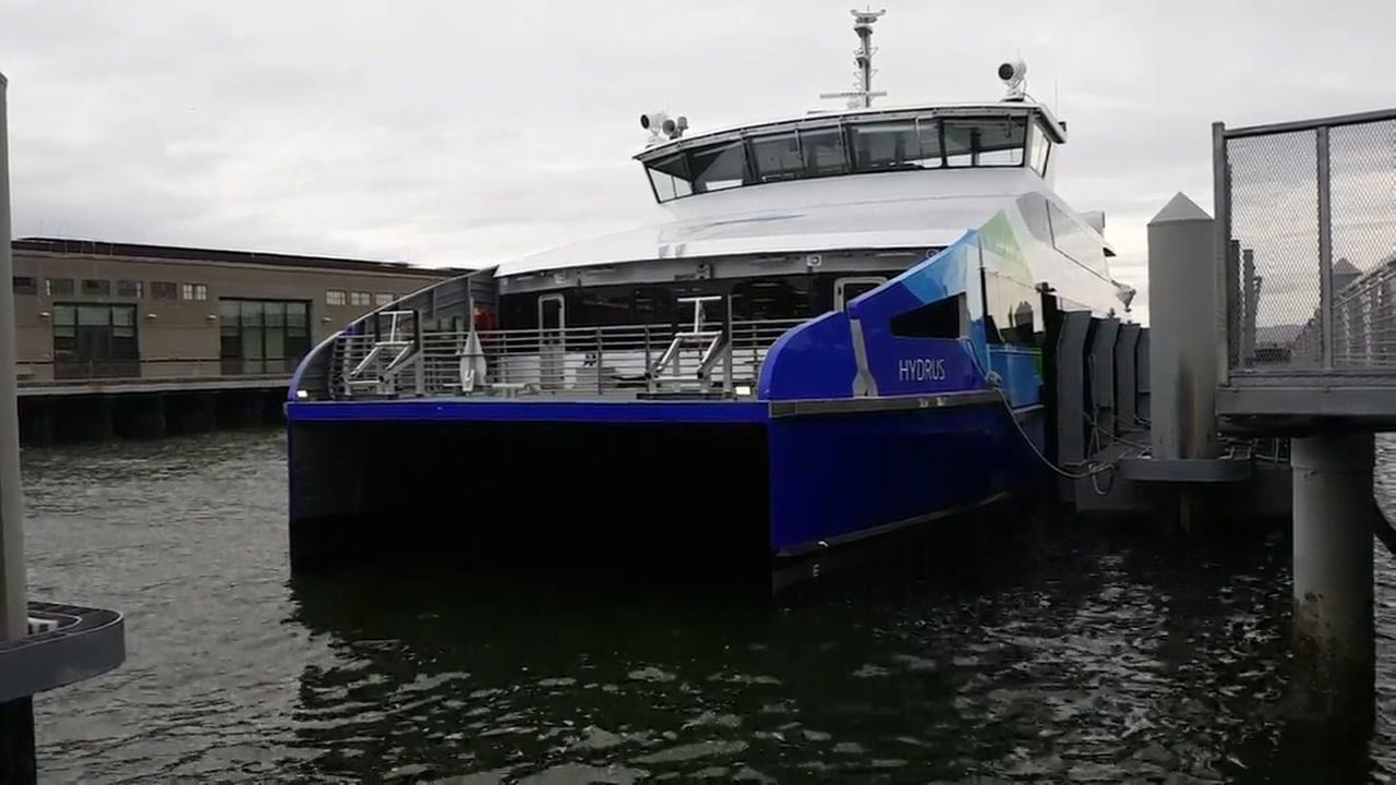 Hydrus ferry unveiled at Pier 9 in San Francisco