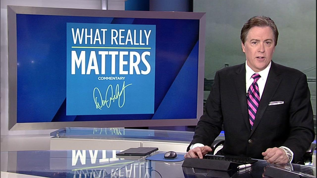 Dan Ashley delivers his What Really Matters segment on Friday, April 7, 2017.