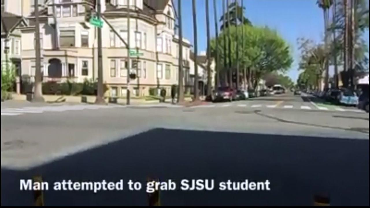 San Jose State University campus appears on Wednesday, April 19, 2017.