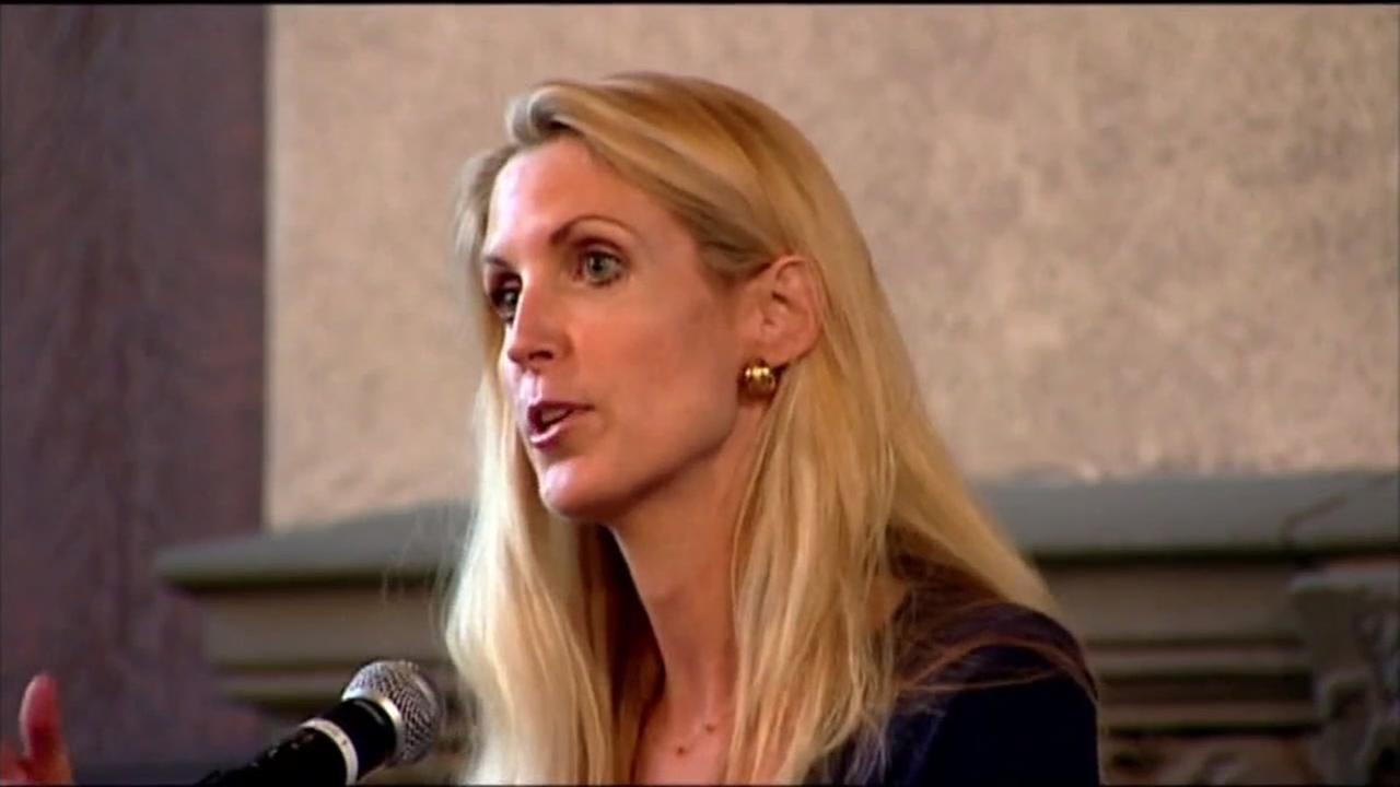 This is an undated image of Ann Coulter.