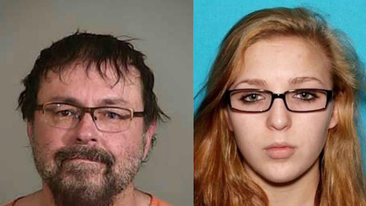 Tad Cummins, 50, and Elizabeth Thompson, 15.