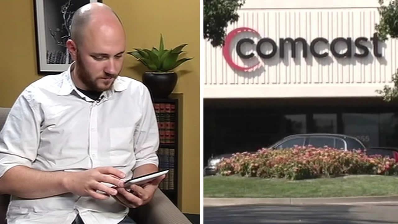 Ryan Block and Comcast logo
