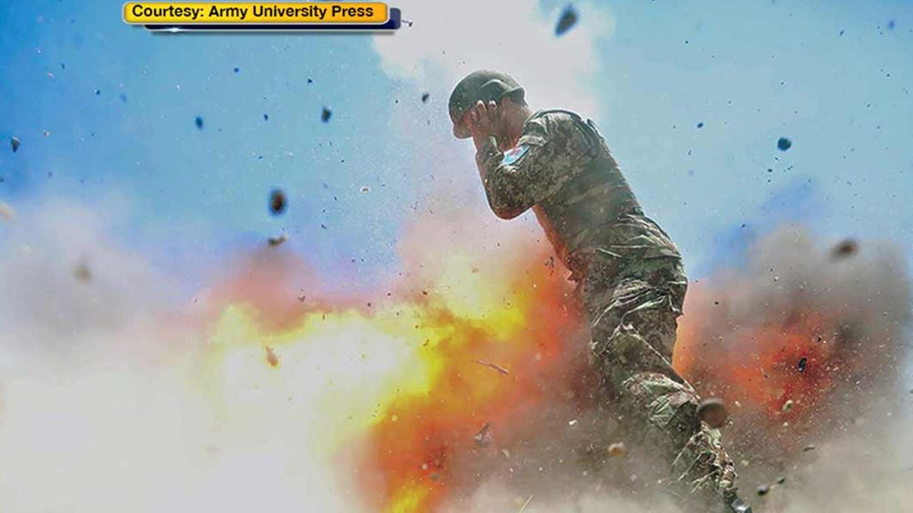 This picture taken by Army specialist Hilda Clayton was snapped in the final moments of her life.