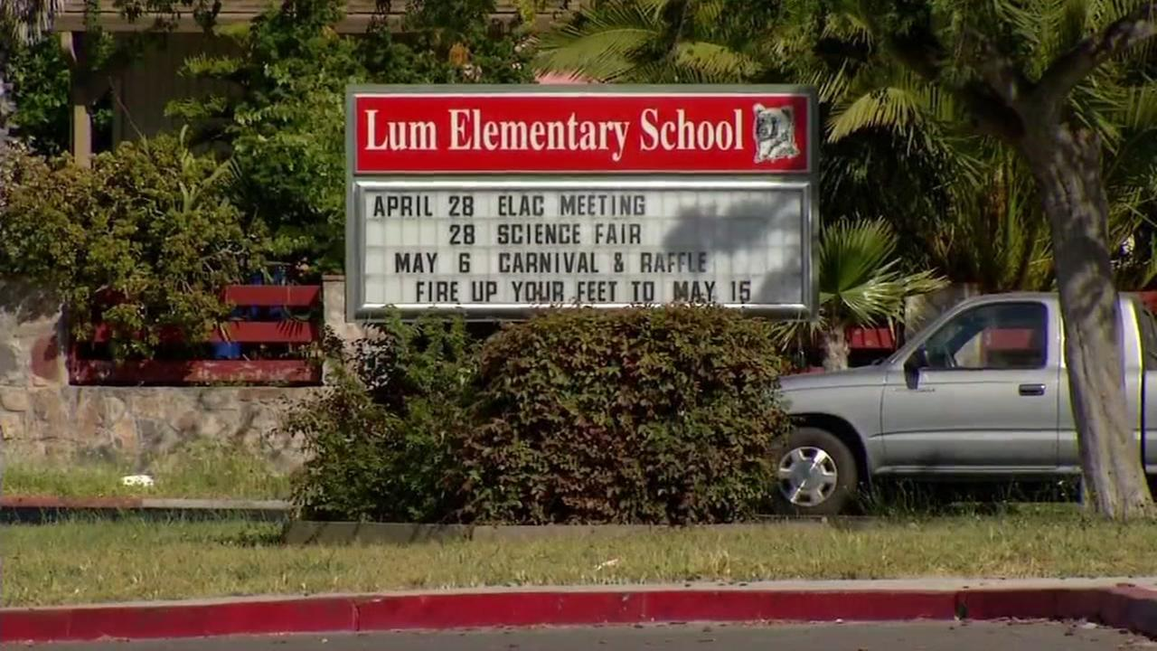 Lum Elementary School is seen in Alameda, Calif. in this undated image.