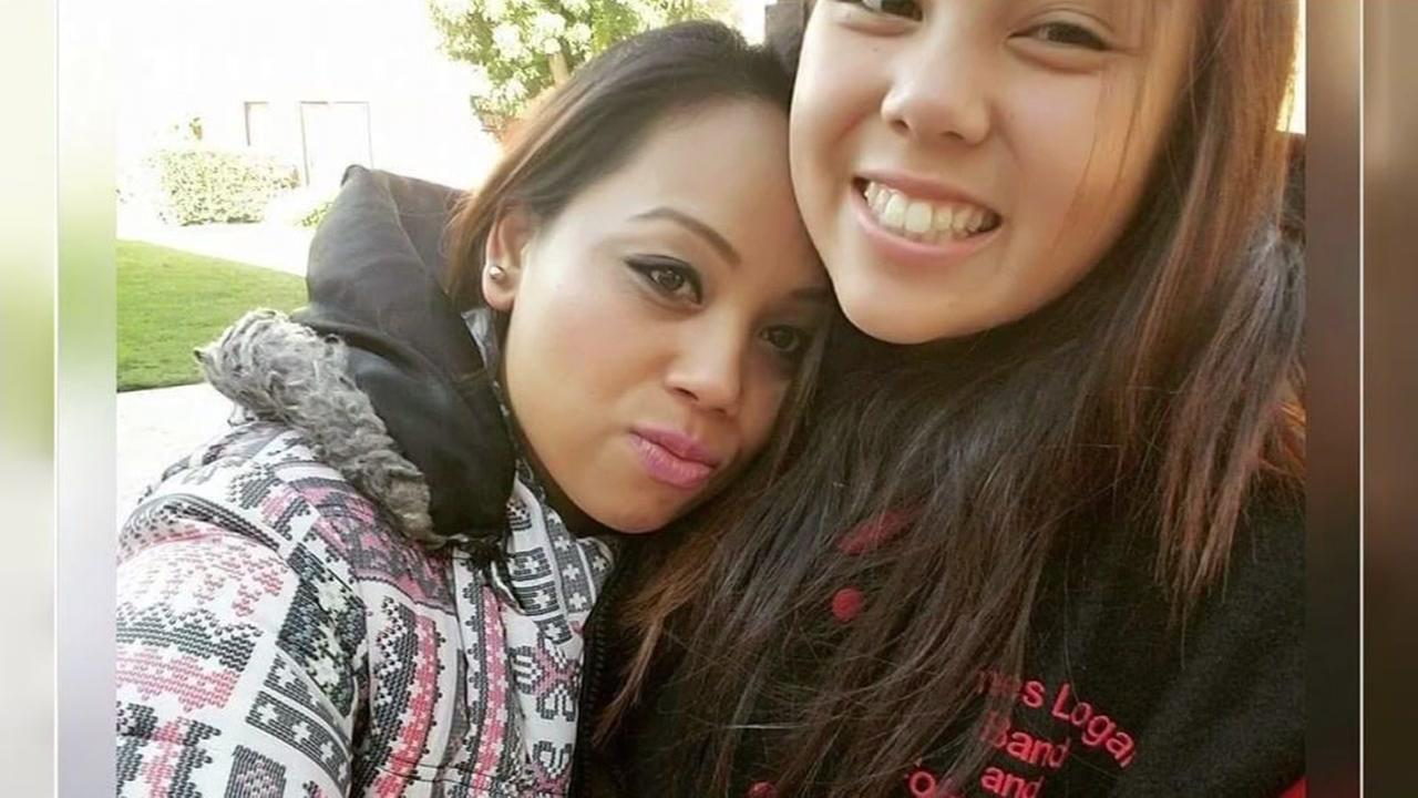 Maria Marcelino and her daughter Shane are seen in this undated image.