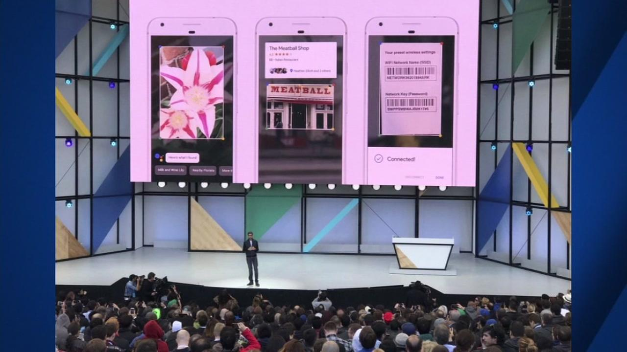Google unveils new products at annual developers conference in Mountain View