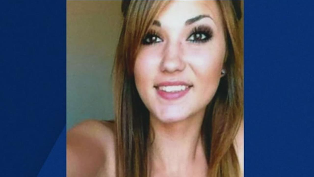 This is an undated image of Alexandrea Sweitzer, who was shot in Richmond, Calif.
