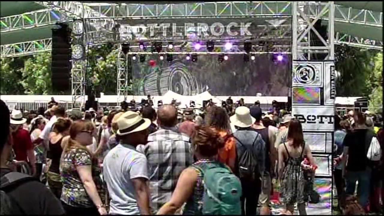 A stage at BottleRock in Napa, Calif. is seen in this undated image.