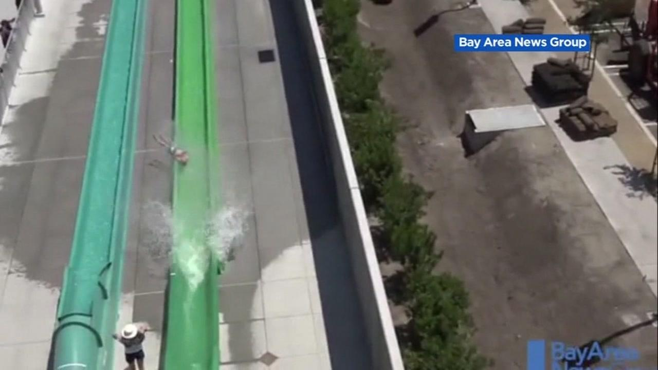 Cal-OSHA investigating Dublin water park where boy flew off slide