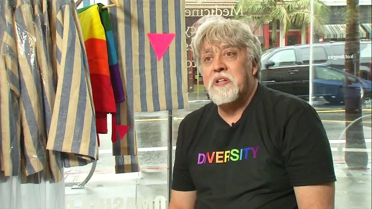 San Franciscos LGBT community celebrates Gilbert Baker, who created the rainbow flag