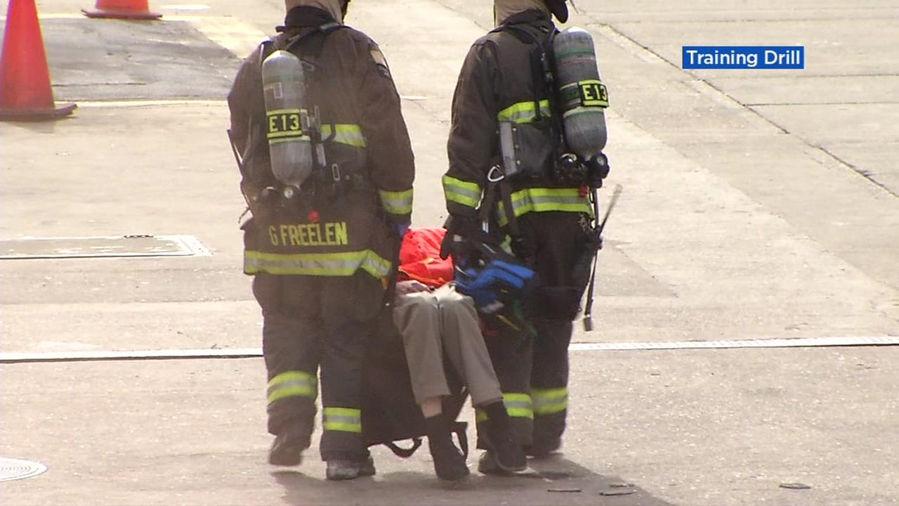 FBI, police hold weapons of mass destruction drills at old Alameda naval air station