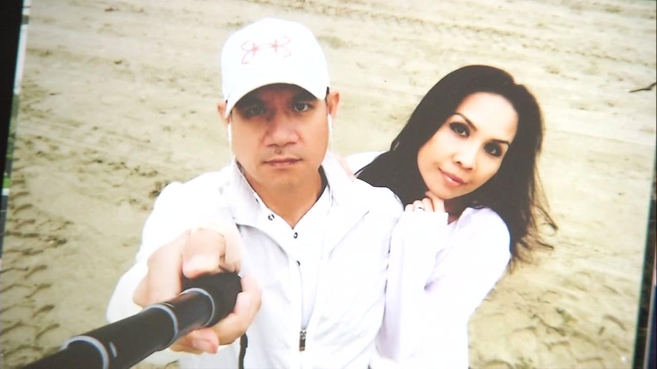 Missing San Francisco man Piseth Chhay is seen in with his wife in this undated photo.