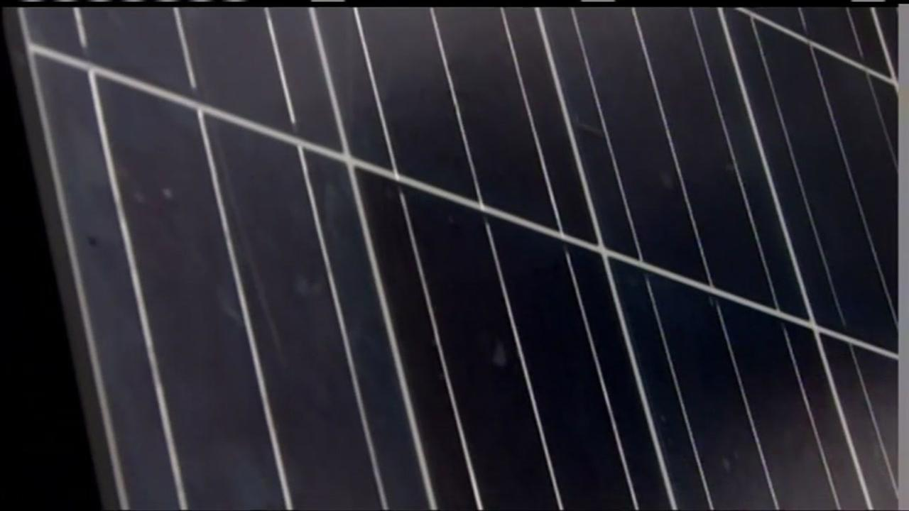 This is an undated image of a solar panel.