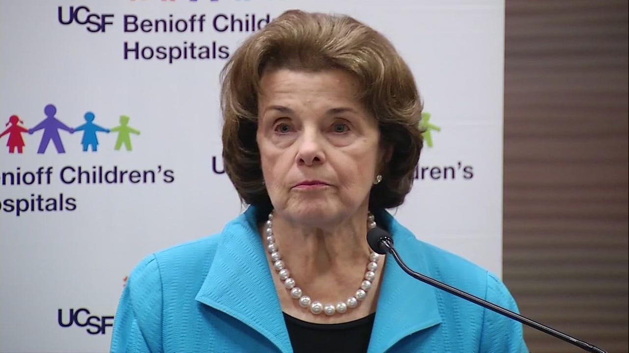 Senator Dianne Feinstein is seen in this undated image.