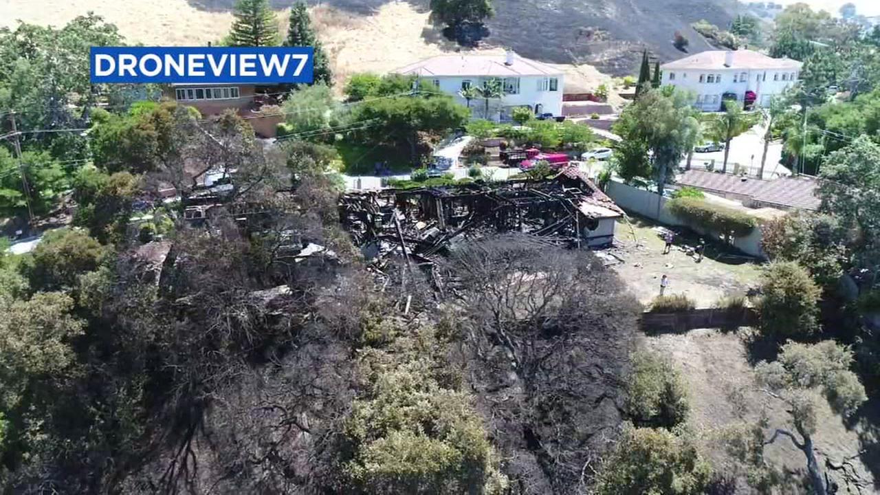 San Jose City officials reopen Alum Rock Park after grass fire