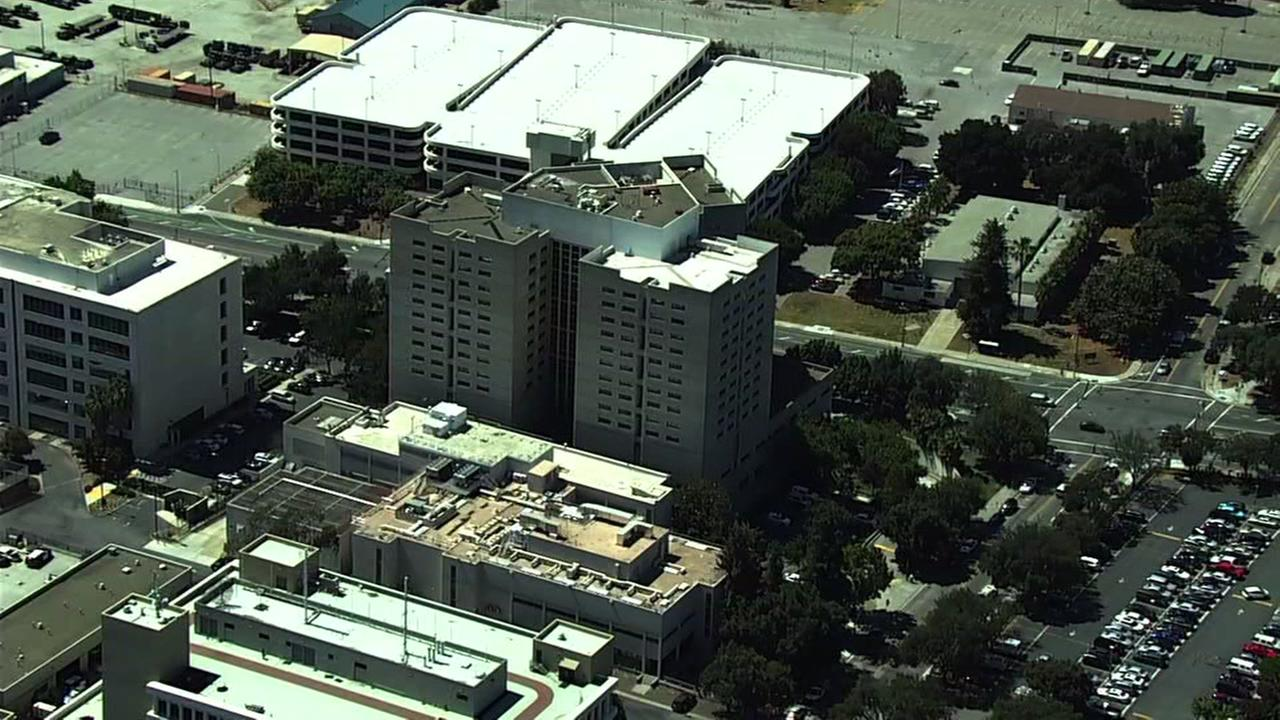 This is an undated image of the Santa Clara County Jail.