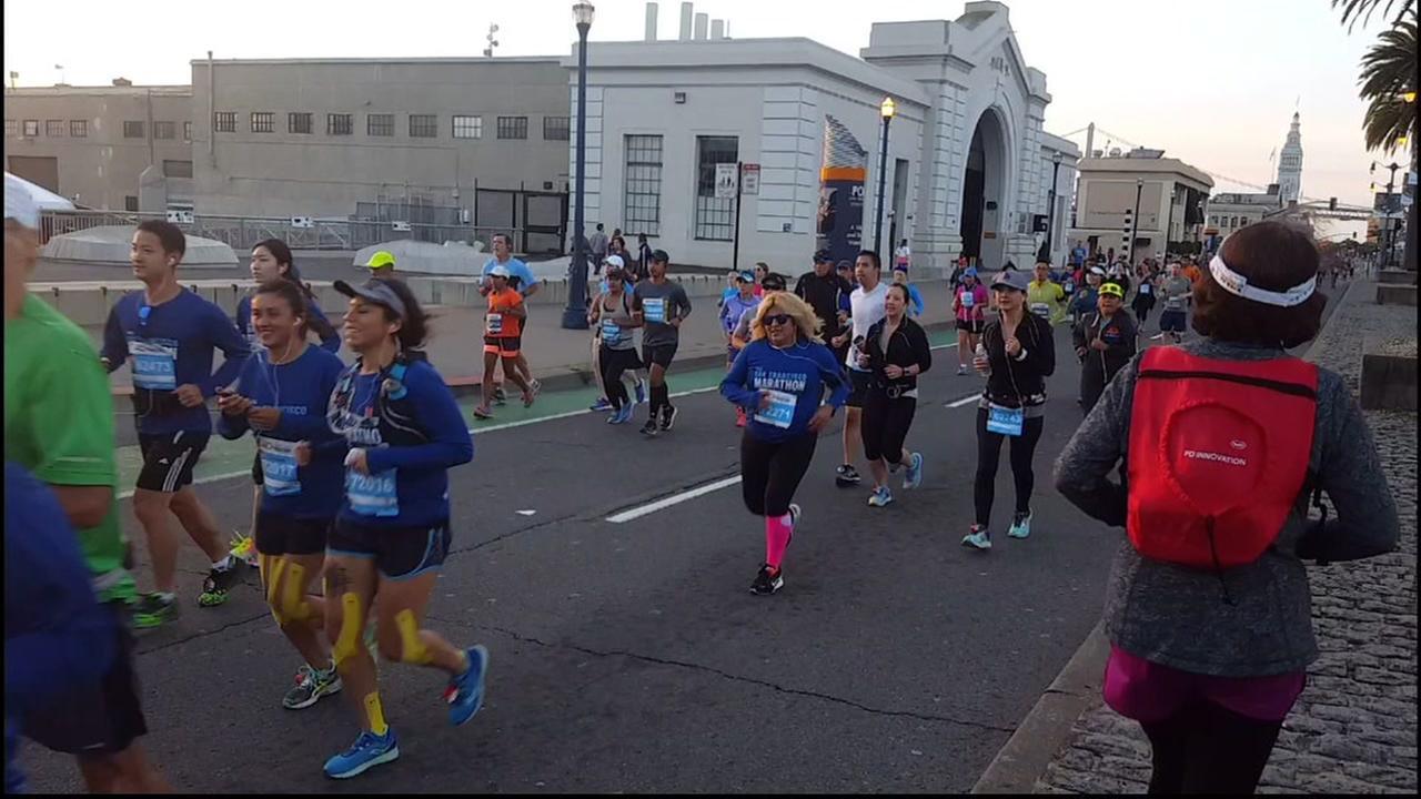 San Francisco Marathon brings out biggest crowd ever