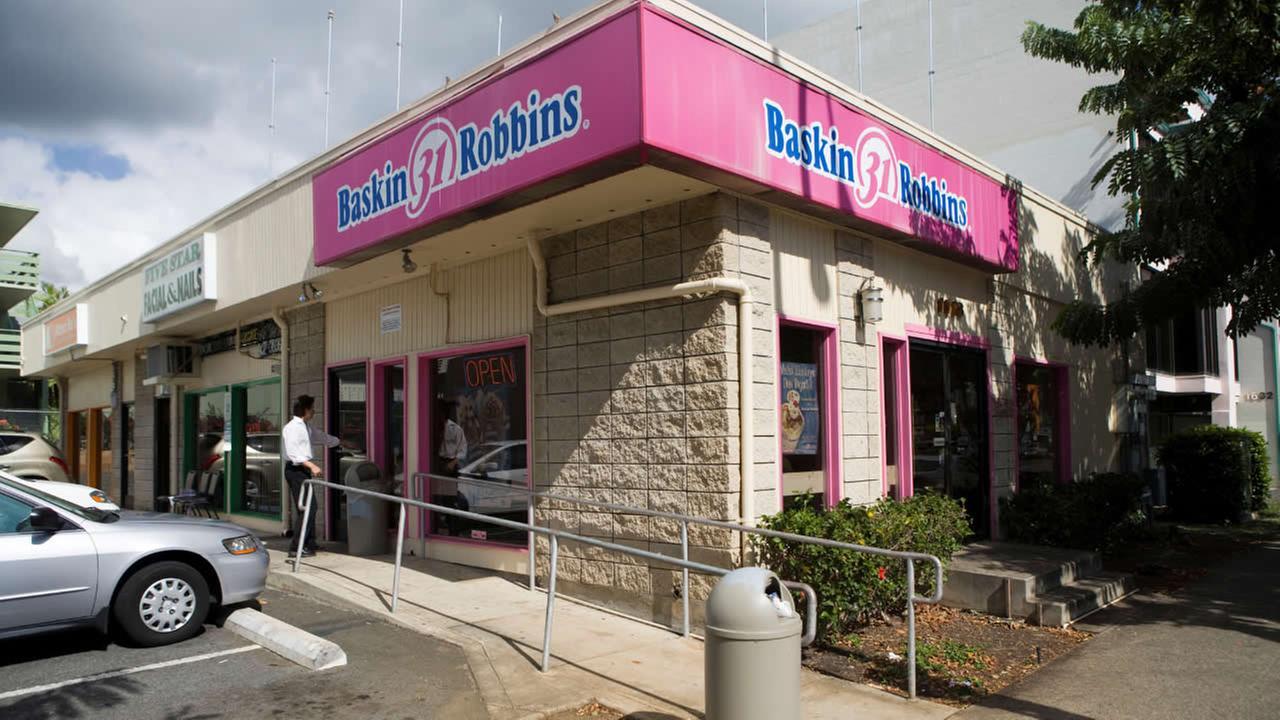 A Baskin Robbins Ice Cream store is seen, Wednesday, Nov. 12, 2008, in Honolulu. (AP Photo/Marco Garcia)