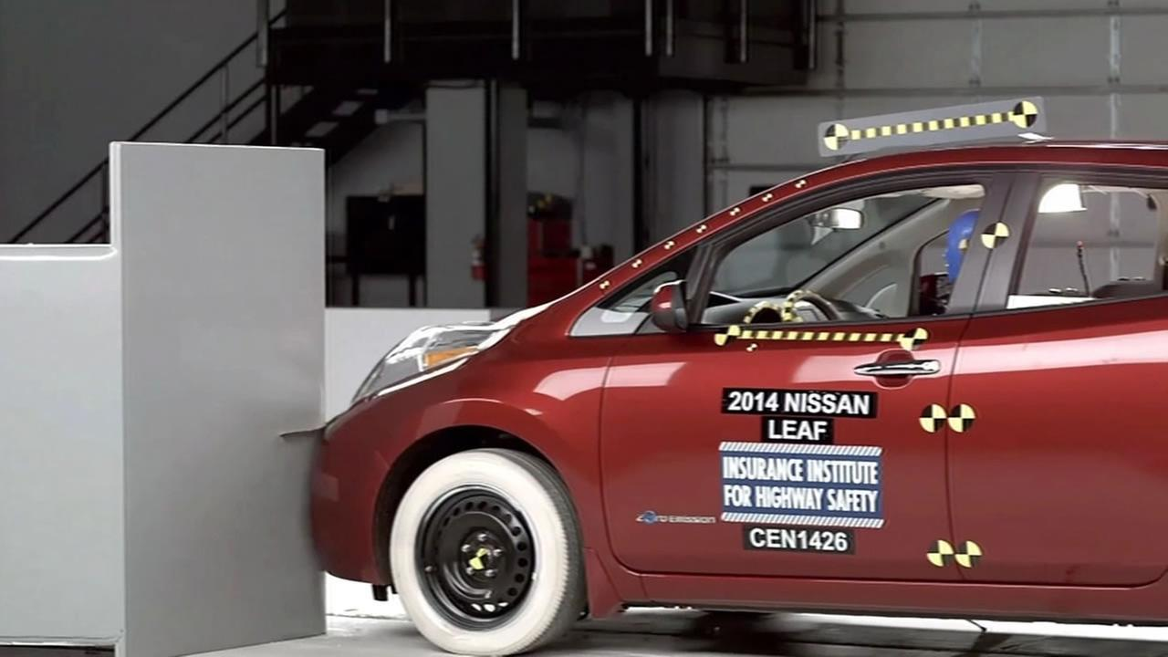 Crash test results for electric vehicles are coming out.