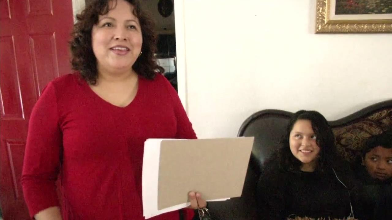Maria Mendoza Sanchez in Oakland, California, Tuesday, August, 15, 2017.