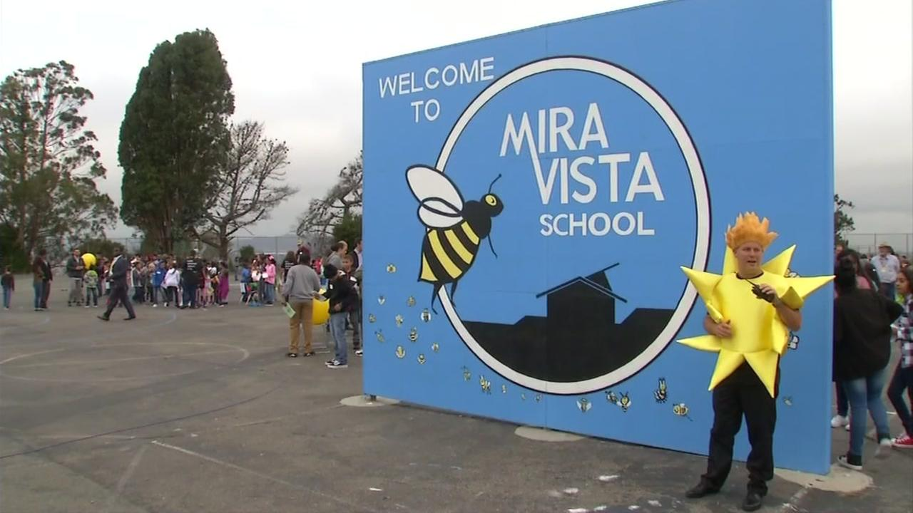 The principal of Mira Vista School is seen on Monday, August 21, 2017 in Richmond, Calif.